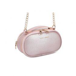 Γυναικεία Τσάντα Ώμου με Αλυσίδα Χρώματος Ροζ - Χρυσό Laura Ashley Lyle 651LAS1828