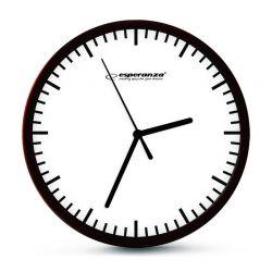 Ρολόι Τοίχου Esperanza Budapest Χρώματος Λευκό EHC010W