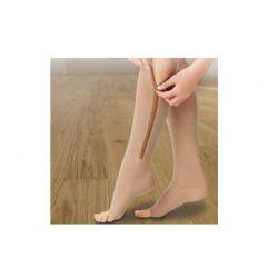 Ελαστικές Κάλτσες Συμπίεσης Κάτω Γόνατος με Φερμουάρ Ανοιχτού Τύπου  GEM BN4591