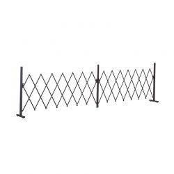 Μεταλλικός Πτυσσόμενος Φράχτης 405 x 31 x 103.5 cm Outsunny 844-139