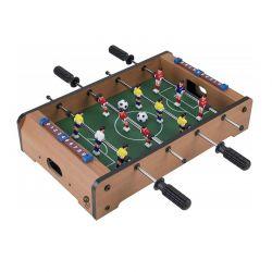 Ξύλινο Επιτραπέζιο Ποδοσφαιράκι με 4 Σειρές 51 x 51 x 10 cm MWS17092