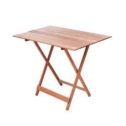 Ξύλινο Πτυσσόμενο Τραπέζι Εξωτερικού Χώρου 100 x 60 cm MWS17620