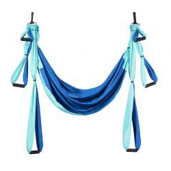 Aerial Yoga Χρώματος Μπλε Costway HT1140BL