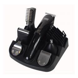 Σετ Επαναφορτιζόμενη Κουρευτική - Ξυριστική Μηχανή και Τρίμμερ Bass Polska BP-8581
