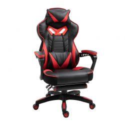 Καρέκλα Gaming με Υποπόδιο 65 x 70 x 118.5-126.5 cm Vinsetto 921-237RD
