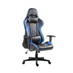 Καρέκλα Gaming Χρώματος Μπλε Hoppline HOP1000874-2