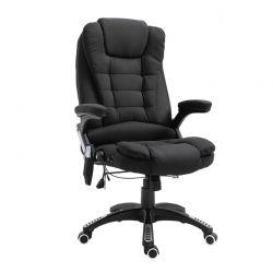 Καρέκλα Γραφείου Μασάζ 7 Σημείων με Τηλεχειριστήριο Vinsetto 921-171V70BK