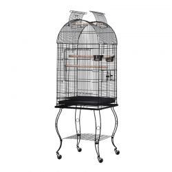Μεταλλικό Κλουβί Πτηνών 51 x 51 x 137 cm PawHut D10-024
