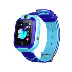 Παιδικό Ρολόι με GPS και Υποδοχή για Κάρτα SIM Χρώματος Μπλε Q12 SPM Q12-Blue