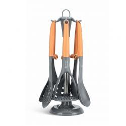 Σετ Εργαλεία Κουζίνας με Περιστρεφόμενη Βάση 7 τμχ Edenberg EB-7803