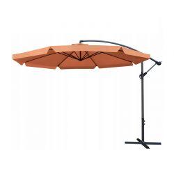 Κρεμαστή Ομπρέλα 3.0 m Χρώματος Πορτοκαλί Malatec 12166
