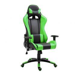 Καρέκλα Gaming 67 x 67 x 123-132 cm Χρώματος Πράσινο HOMCOM 921-037GN
