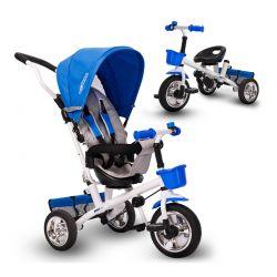 Τρίκυκλο Παιδικό Ποδήλατο - Καρότσι Χρώματος Μπλε Ricokids 7600