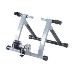 """Πτυσσόμενο Προπονητήριο Ποδηλάτου 26-28"""" Χρώματος Ασημί HOMCOM 5661-0059"""