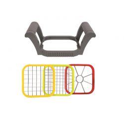 Χειροκίνητος Κόφτης Φρούτων και Λαχανικών 3 σε 1 Cook Concept KD3149