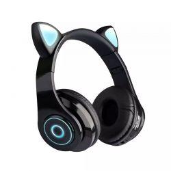 Ασύρματα Ακουστικά Bluetooth Γάτα Χρώματος Μαύρο SPM B39-Black