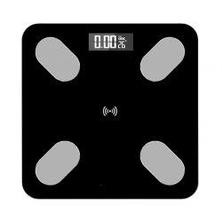 Ηλεκτρονική Ζυγαριά Μπάνιου - Λιπομετρητής Σώματος SPM B2017-Black