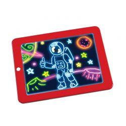 Μαγικός Φωτεινός Πίνακας Ζωγραφικής SPM 3DX9-Red