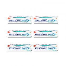 Οδοντόκρεμα Sensodyne Rapid Extra Fresh 6 τμχ 75ml SEN-5054563040039-6P