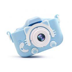 Παιδική Ψηφιακή Φωτογραφική Μηχανή Χρώματος Μπλε SPM 5908222219895-Blue
