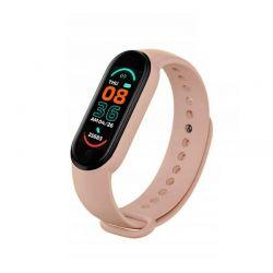 Ρολόι Fitness Tracker με Πιεσόμετρο και Μετρητή Καρδιακών Παλμών Smart Band M6 Χρώματος Ροζ SPM M6-MAGN-Pink