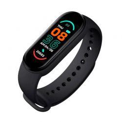 Ρολόι Fitness Tracker με Πιεσόμετρο και Μετρητή Καρδιακών Παλμών Smart Band M6 Χρώματος Μαύρο SPM M6-MAGN-Black