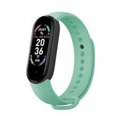 Ρολόι Fitness Tracker με Πιεσόμετρο και Μετρητή Καρδιακών Παλμών Smart Band M6 Χρώματος Πράσινο SPM M6-MAGN-Green