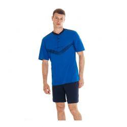 Ανδρική Καλοκαιρινή Πυτζάμα Sergio Tacchini Χρώματος Μπλε PG34111-AS1-CB