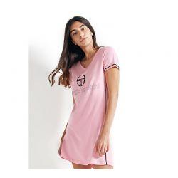 Κοντομάνικο Νυχτικό Sergio Tacchini Χρώματος Ροζ VE34210-AS-PINK