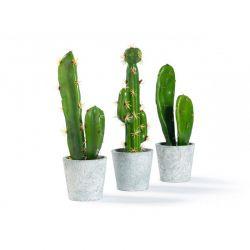 Σετ Τεχνητά Φυτά Κάκτοι σε Γλάστρες 3 τμχ Inkazen 40080782