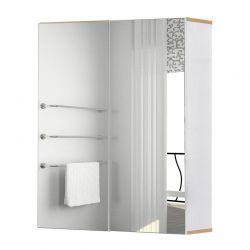Καθρέπτης Μπάνιου με Ντουλάπι 60 x 20.5 x 75 cm Kleankin 834-308