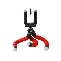 Τρίποδο Χταπόδι με Βάση Στήριξης Κινητού / Κάμερας Χρώματος Κόκκινο SPM DB7987