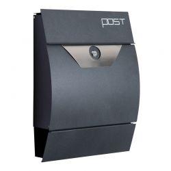 Μεταλλικό Γραμματοκιβώτιο 35 x 9.5 x 44.5 cm HOMCOM B80-004