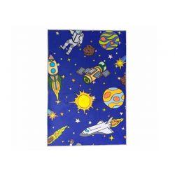 Παιδικό Χαλί με Μοτίβο Διαστήματος 130 x 180 cm Hoppline HOP1001235-4