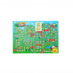 Παιδικό Χαλί με Μοτίβο Επιτραπέζιο Παιχνίδι 130 x 180 cm Hoppline HOP1001235-5