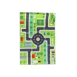 Παιδικό Χαλί με Μοτίβο Πόλης 130 x 180 cm Hoppline HOP1001235-2