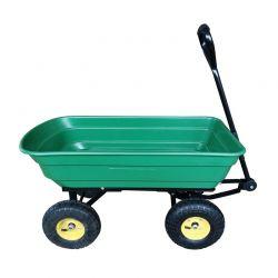 Ρυμουλκούμενο Καρότσι Κήπου με Ανατροπή 75 Lt Outsunny 5662-0363