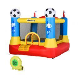 Παιδικό Φουσκωτό Γήπεδο - Τραμπολίνο 225 x 220 x 195 cm Outsunny 342-016V70