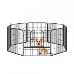 Μεταλλικό Κλουβί - Πάρκο Εκπαίδευσης Σκύλου 79 x 100 cm PawHut D06-107V01