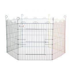Πολυμορφικό Μεταλλικό Κλουβί - Πάρκο Εκπαίδευσης Κατοικίδιου 120 x 66 cm PawHut D06-073