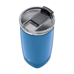 Ποτήρι Θερμός 350 ml Χρώματος Μπλε Smile STT-14/6