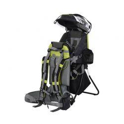Σακίδιο Μεταφοράς Παιδιού με Προστατευτικό Κάλυμμα Βροχής Χρώματος Πράσινο HOMCOM 430-002