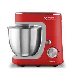 Κουζινομηχανή 1400 W Premium ProMix Χρώματος Κόκκινο TurboTronic TT-017 Red