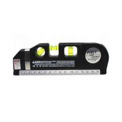 Μέτρο - Αλφάδι με Γραμμή Laser 250 cm Kraft&Dele KD-10437