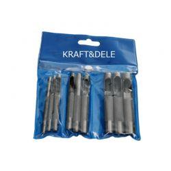 Σετ Σγρόμπιες 3 - 19 mm 9 τμχ Kraft&Dele KD-11202