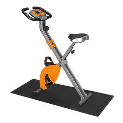 Αναδιπλούμενο Μαγνητικό Ποδήλατο Γυμναστικής με Χαλάκι Δαπέδου Songmics SXB11OG