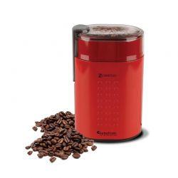 Ηλεκτρικός Μύλος Άλεσης Καφέ και Μπαχαρικών 200 W Χρώματος Κόκκινο ZEspresso Turbotronic TT-CG5 Red