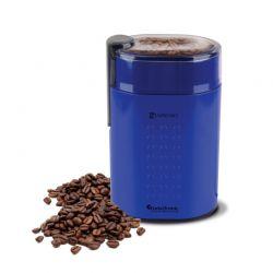 Ηλεκτρικός Μύλος Άλεσης Καφέ και Μπαχαρικών 200 W Χρώματος Μπλε ZEspresso Turbotronic TT-CG5 Bleu