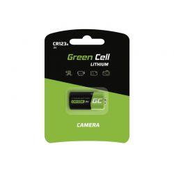Μπαταρία Λιθίου CR123A 3 V 1400 mAh Green Cell XCR02