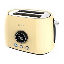 Φρυγανιέρα Cecotec ClassicToast 8000 Double Χρώματος Κίτρινο CEC-03107